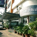  Front Entrance of JK Residency