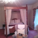  four-poster bed in double room