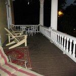  Second floor porch