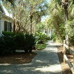  Walkway to cottages