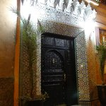  porte d&#39;entre du riad