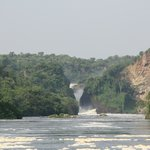  murchison&#39;s falls dal battello