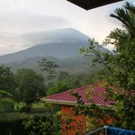  Volcano Arenal from our cabina