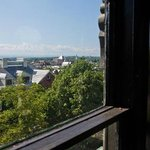  Break-Taking Views from Fourth Floor Belvedere over Lake Champlain and Downtown Burlington