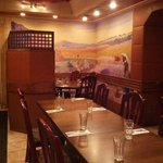 Dining area at Jerusalem Restaurant