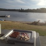 BBQ Breakfast up on the lake