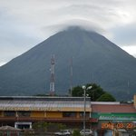 Arenal Volcano from the hotel terrace (on a clear day)