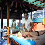  massage hut by the beach