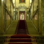 great staircase which the king Franz Josef already walked on
