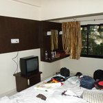 Road side double bed room w