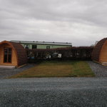  Our 2 Camping pods. Just right for those who would like a bit more comfort.