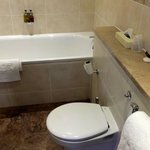 Nice bathroom with molton brown shower kits