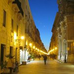  Corso Vittorio Emanuele at night.