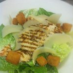  Chargrilled Chicken Salad with Parmesan and Crispy Croutons