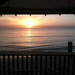 Sunset from Sea Splash bar...beautiful!