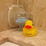  Rubber Ducky in the bathroom