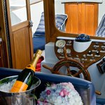  Sunset harbor champagne cruises are available summer evenings
