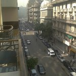  View to Tahrir Square from hotel balcony