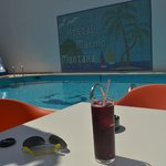  Sangria by the pool ;)