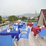 Day view Opened terrace on the top with a panoramic view over Bujumbura