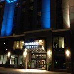 Staybridge Suites at Night