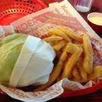 lettuce-wrapped burger and bottomless fries.