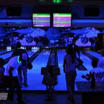 Intergalactic Glow-in-the-Dark Bowling is a favorite