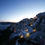  Oia by night from Chroma Suites