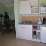  Tiny kitchen area