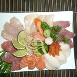  mix sashimi. so freakin&#39; good!
