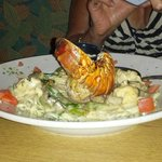  linguine with lobster special