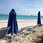 GBS Section of Beach -- use the light blue chairs and blue umbrellas!