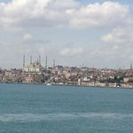  the view of the European side from the ferry crossing