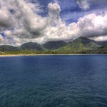  Hanalei Bay, view from Pier.