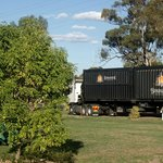 Ample Truck /Trailer parking