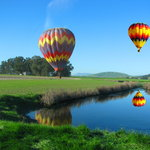Hot air balloon rides in Napa Valley