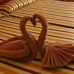 towel art ~