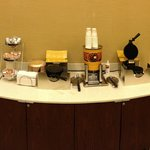  Breakfast - waffle station