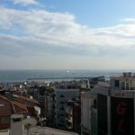 The view from our room towards the Marmara Sea