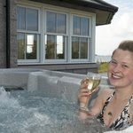 Relax in our Hot-Tub