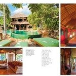  A sample page from Bali Style Magazine