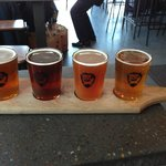 Beer Tray-about £7 for these 4 beers