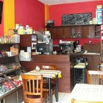 Arome cafe shop y chocolate
