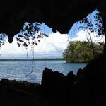"Cave with a ""window"" and beautiful view"