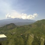 view of etna from castelmoro