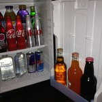Non-alcoholic mini bar