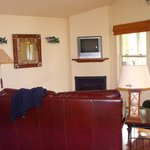 Comfortable love seat - Balcony with BBQ grill - Right next to river with great view