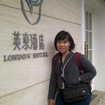  in front of Ole London Hotel