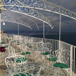  On the balcony overlooking the whole of amalfi with a glass of wine- nothing better!!!