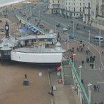  a view of the seafront from the wheel